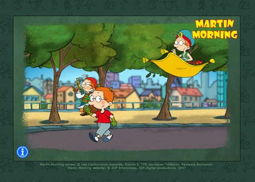 Martin Morning - Homescreen