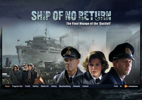 Ship Of No Return - Homescreen